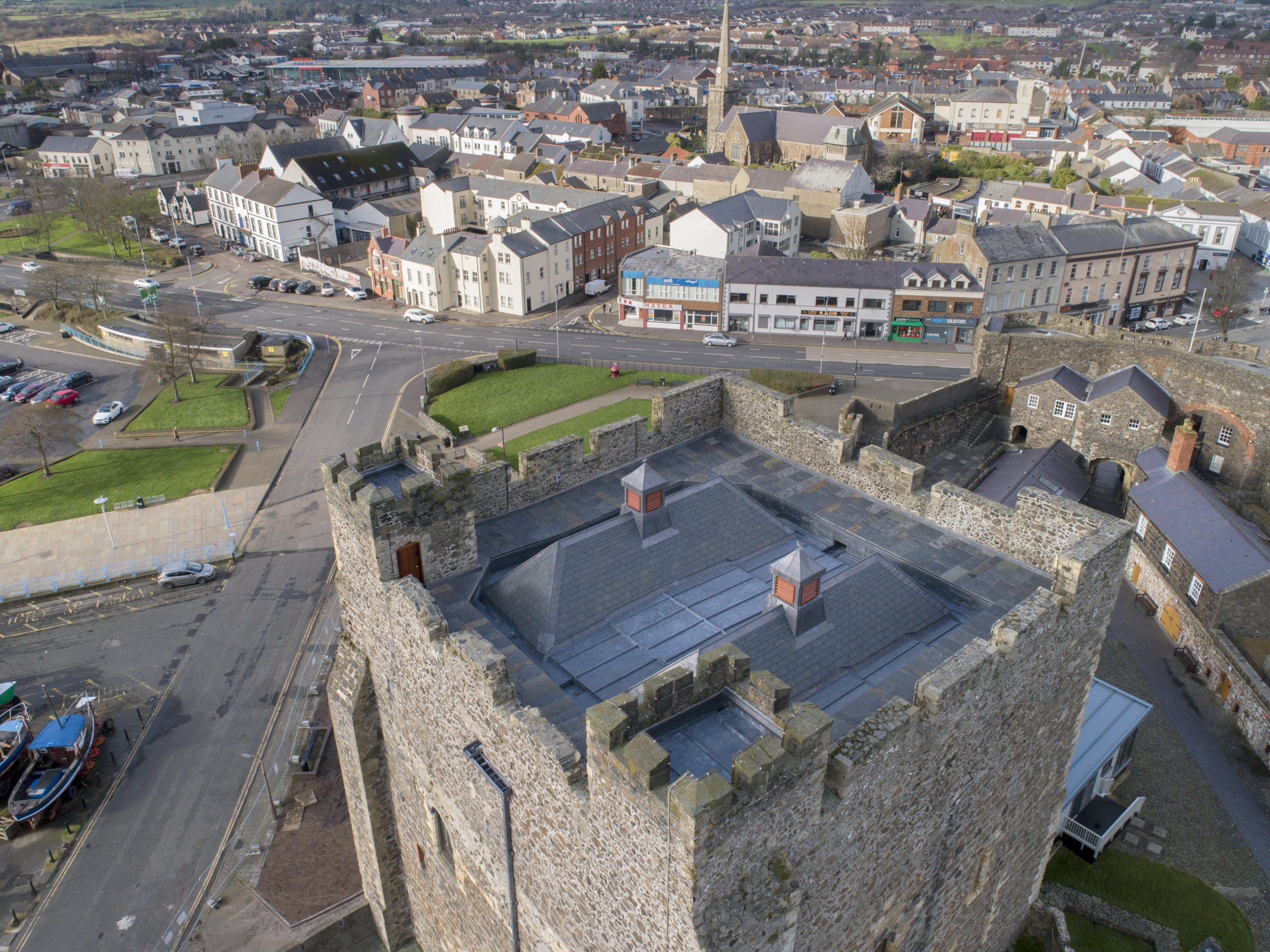 CARRICKFERGUS CASTLE ROOF REPLACEMENT-Alastair Coey Architects in partnership with Kennedy Fitzgerald Architects-Tony Corey-3